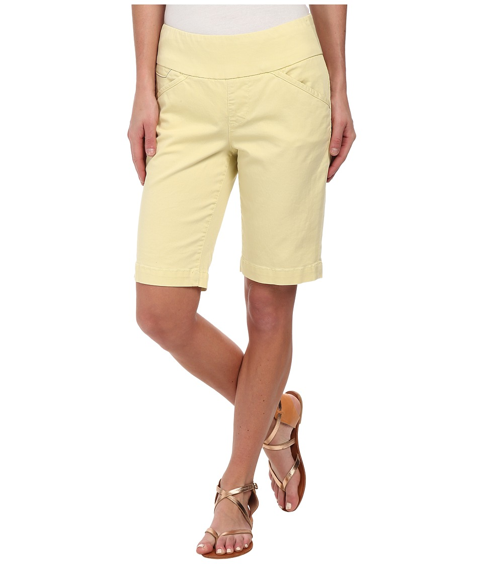 Jag Jeans - Ainsley Bermuda Classic Fit Bay Twill (Lemon Twist) Women's Shorts