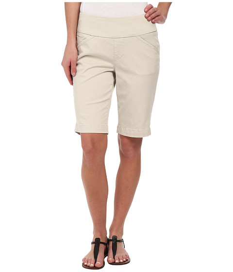Jag Jeans - Ainsley Bermuda Classic Fit Bay Twill (Stone) Women's Shorts