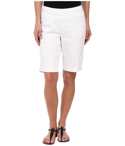 Jag Jeans - Ainsley Bermuda Classic Fit Colored Denim (White) Women