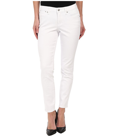 Jag Jeans - Evan Slim Ankle in White (White) Women