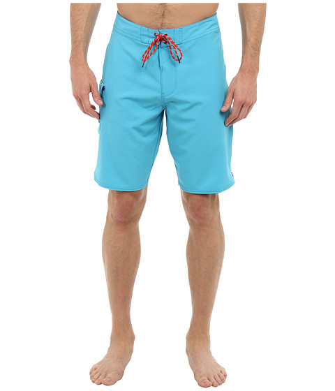 VISSLA - Concav Boardshort (Bright Blue) Men's Swimwear