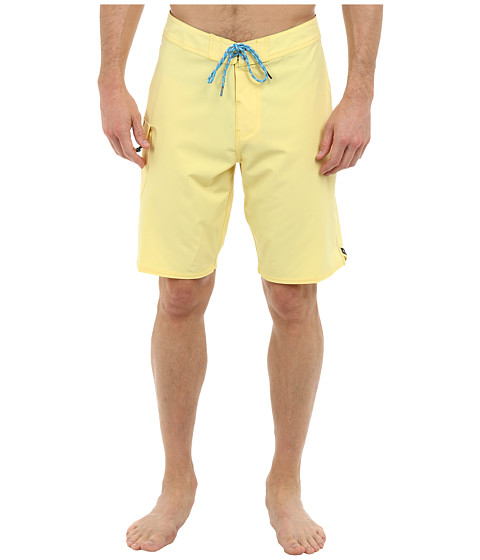 VISSLA - Concav Boardshort (Lemon) Men's Swimwear
