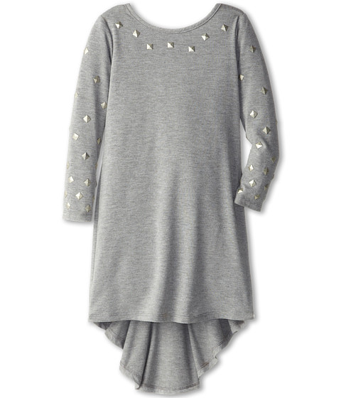 Biscotti - School of Rock Hi Low Dress (Little Kids) (Grey) Girl's Dress