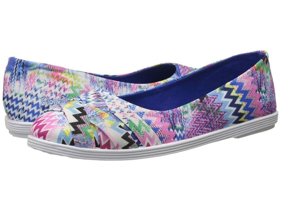 Blowfish - Glo (Blue Banyan Print) Women's Flat Shoes