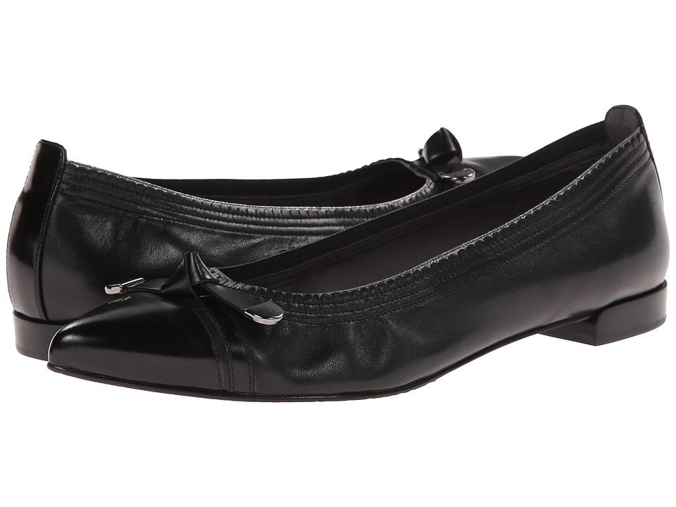 Stuart Weitzman - Bowgaloo (Black Nappa Leather) Women