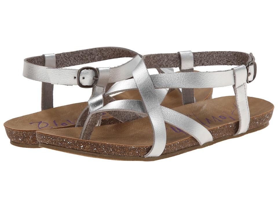 Blowfish - Granola (Silver Dyecut PU) Women's Sandals