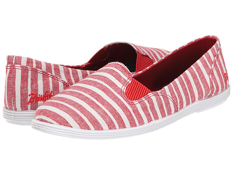Blowfish - Gillie (Red Caicos Linen) Women's Slip on Shoes