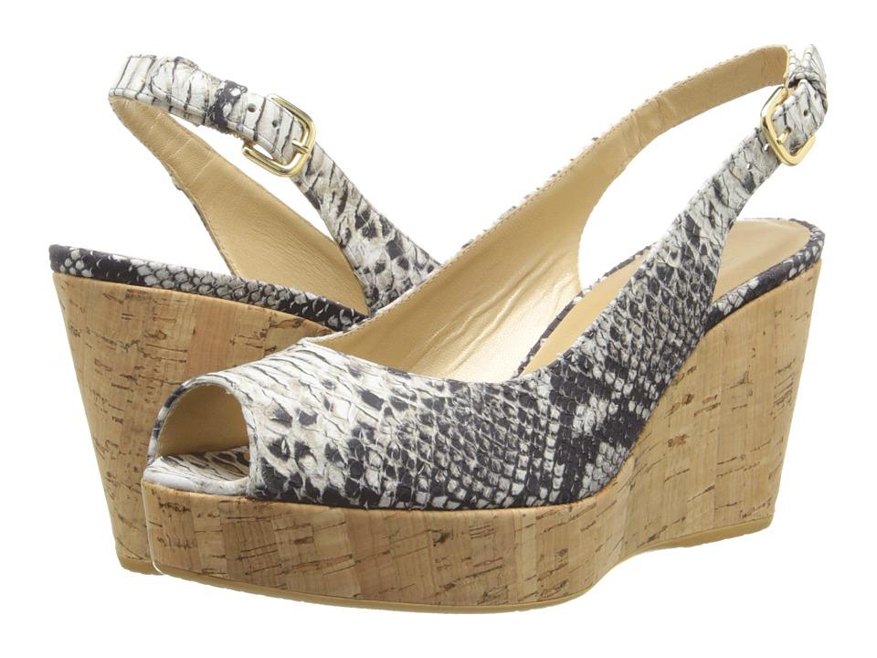 Stuart Weitzman - Jean (Natural Buck Molorrus) Women's Shoes