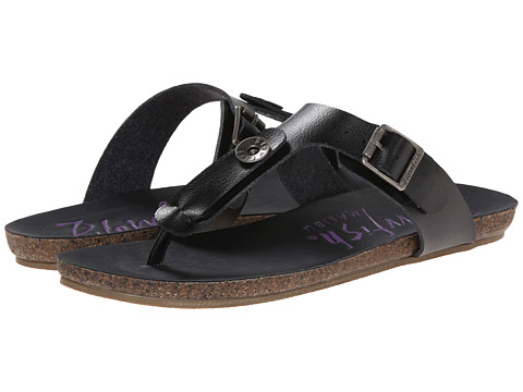 Blowfish - Greco (Black Dyecut) Women's Sandals