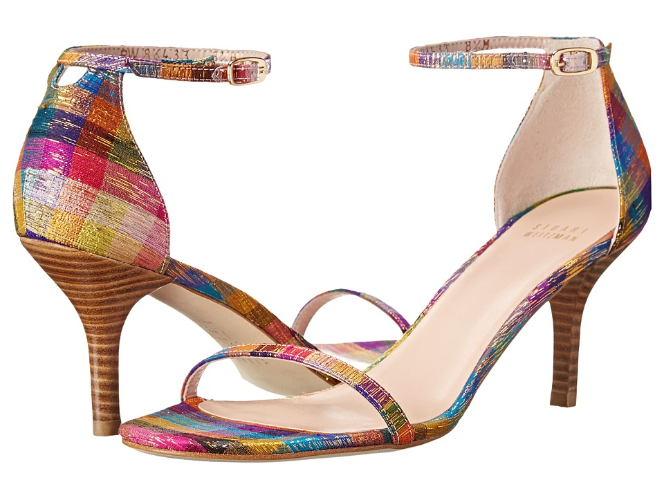 Stuart Weitzman - Naked (Tinsel Silk) High Heels