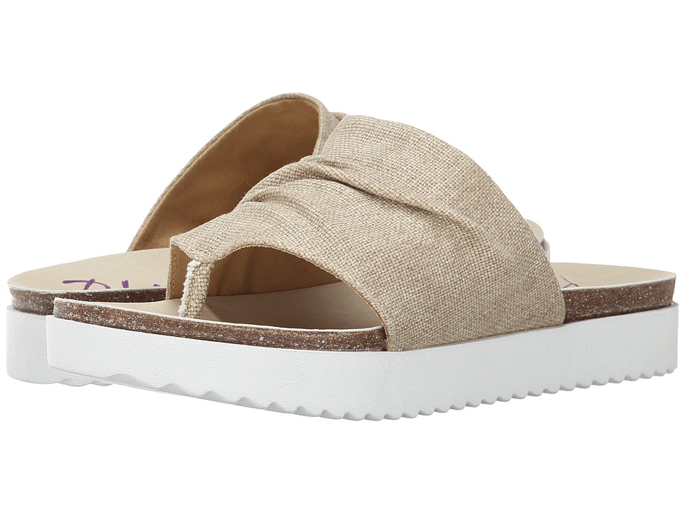 Blowfish - Andria (Natural Rancher Canvas) Women's Sandals