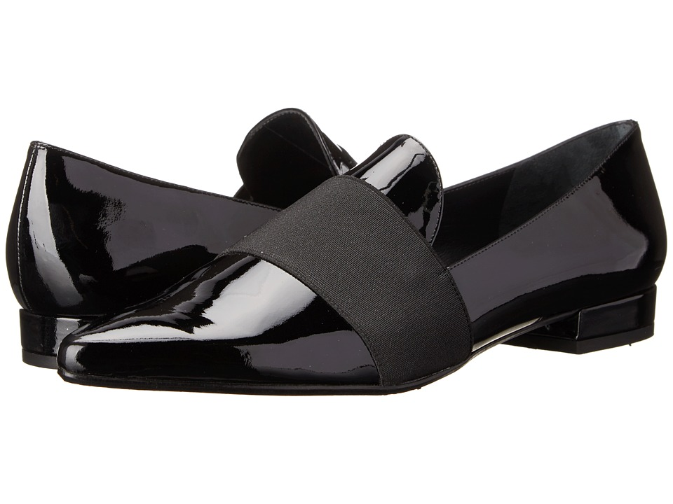 Stuart Weitzman - Theband (Black Patent) Women's Slip on Shoes