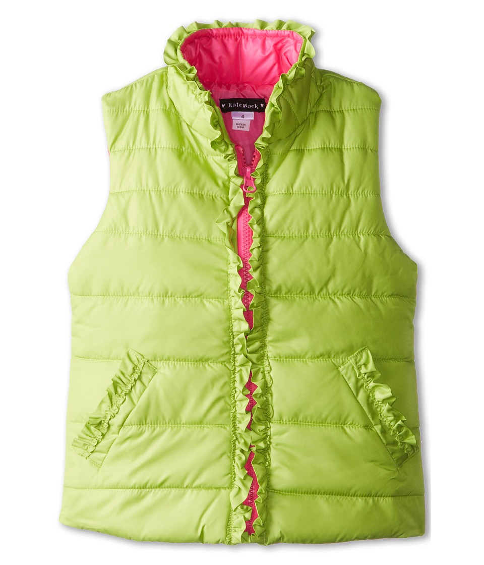 Kate Mack - Outerwear Essentials Polyfill Vest (Little Kids/Big Kids) (Green) Girl