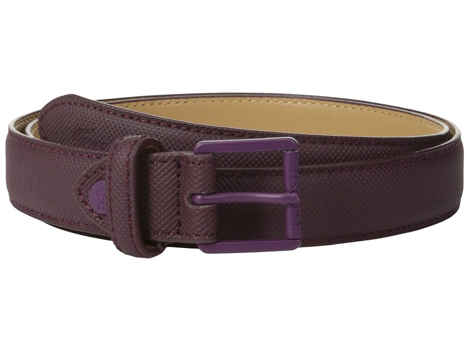 Lacoste - L.12.12 Belt (Fig) Women's Belts