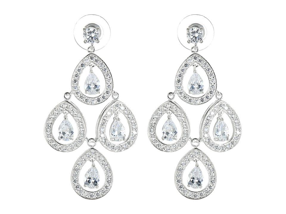 Nina - Tomeka Earring (Silver/CZ) Earring