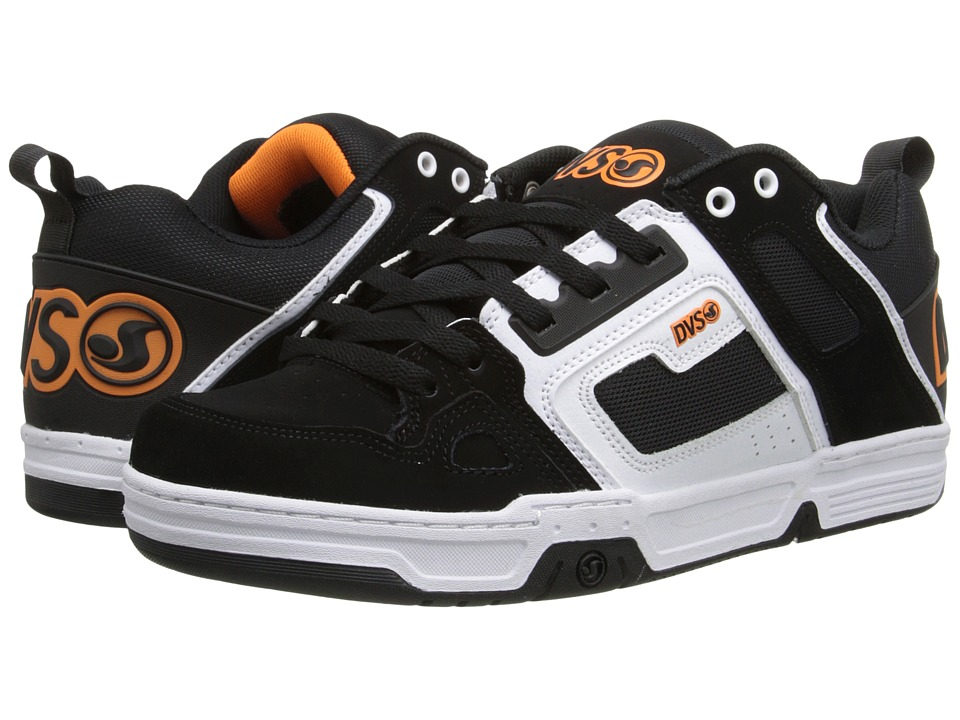 DVS Shoe Company - Comanche (Black/White Nubuck Gunny) Men's Skate Shoes