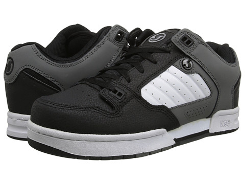 DVS Shoe Company - Militia (Grey/Black Nubuck) Men's Skate Shoes