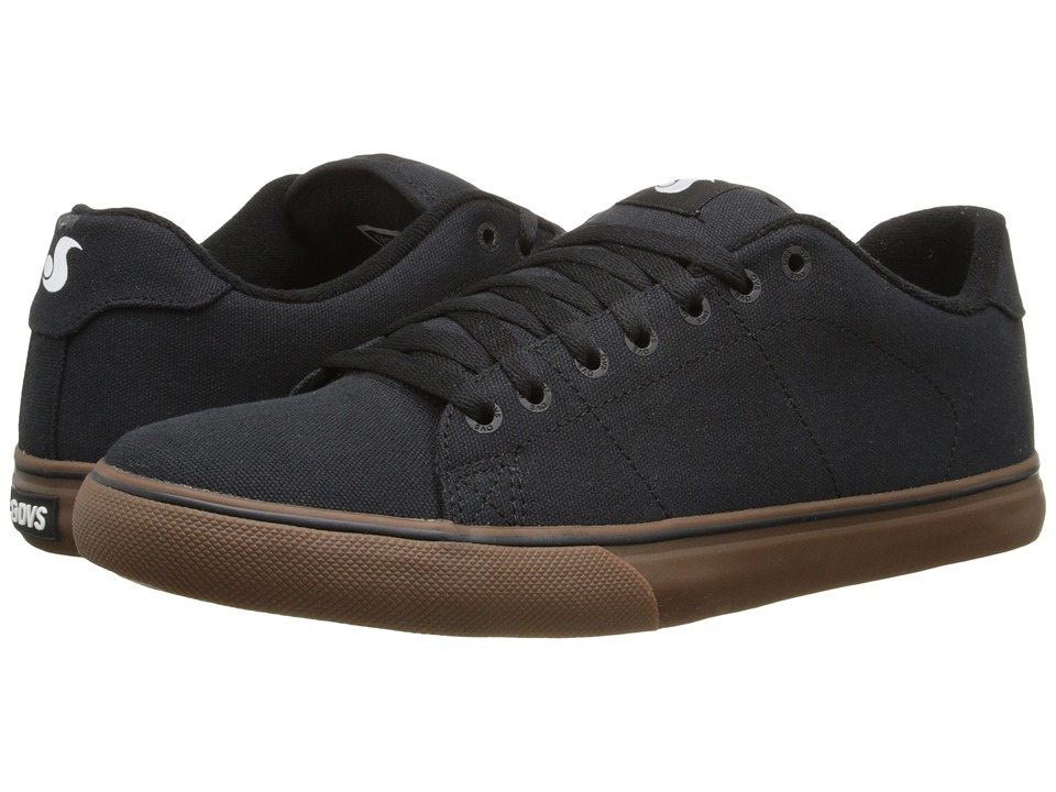 DVS Shoe Company - Gavin CT (Black Canvas) Men's Skate Shoes