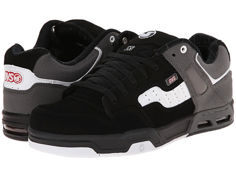 DVS Shoe Company - Enduro Heir (Black/White Nubuck) Men
