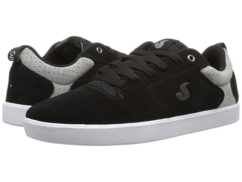 "DVS Shoe Company - Nica (Black/Grey ""20 Year"" Suede) Men's Skate Shoes"