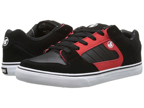 DVS Shoe Company - Militia CT (Black/Red/Deegan) Men