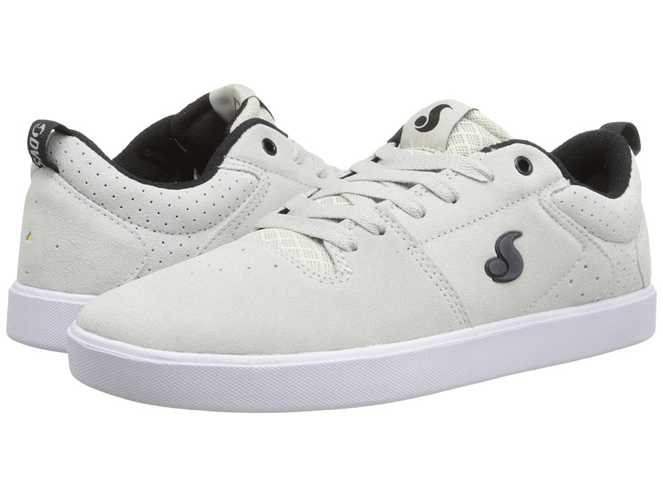 DVS Shoe Company - Nica (Silver Suede) Men's Skate Shoes