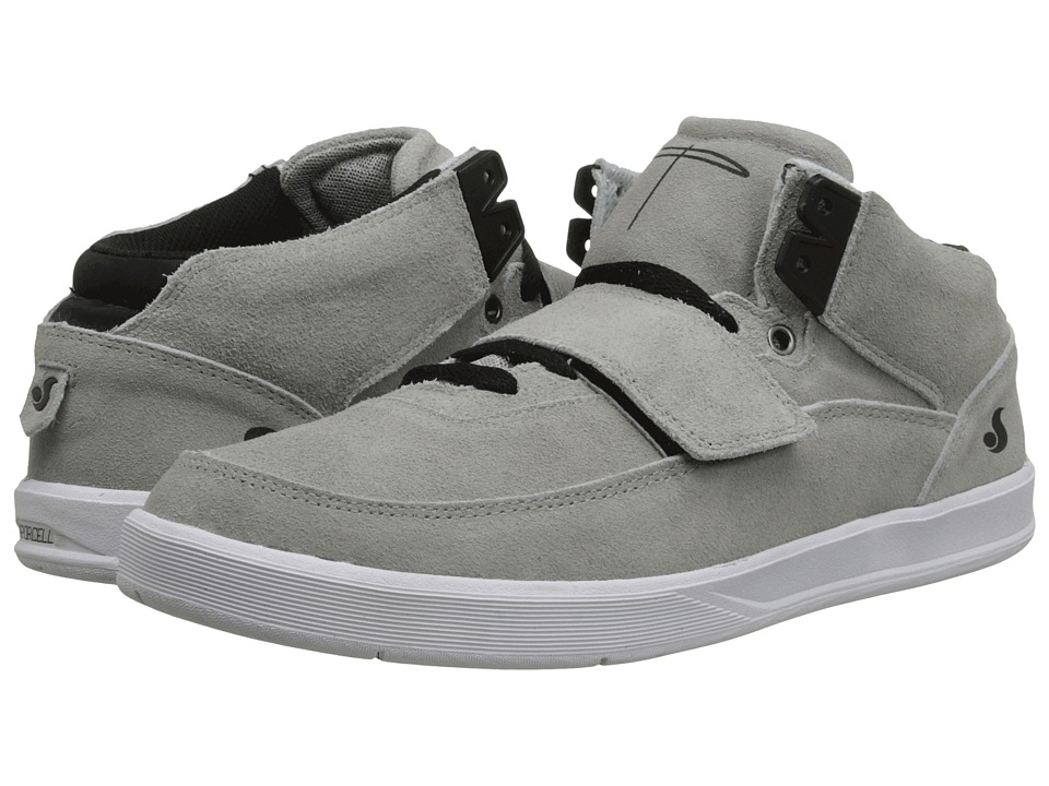 "DVS Shoe Company - Torey 3 (Grey/Black ""20 Year"" Suede) Men's Skate Shoes"