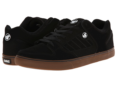 DVS Shoe Company - Militia CT (Black/Gum Nubuck) Men's Skate Shoes