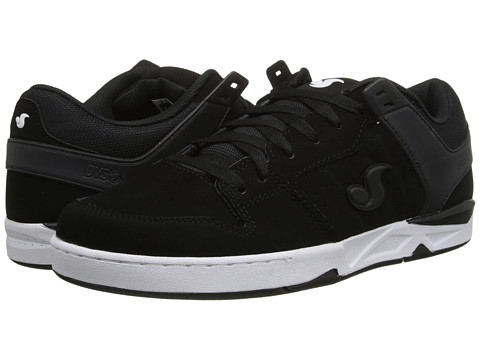 DVS Shoe Company - Argon (Black/White Nubuck) Men's Skate Shoes