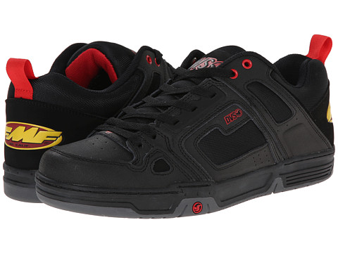 DVS Shoe Company - Comanche (Black FMF Gunny) Men's Skate Shoes