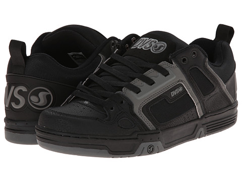 DVS Shoe Company - Comanche (Grey/Black Nubuck) Men's Skate Shoes