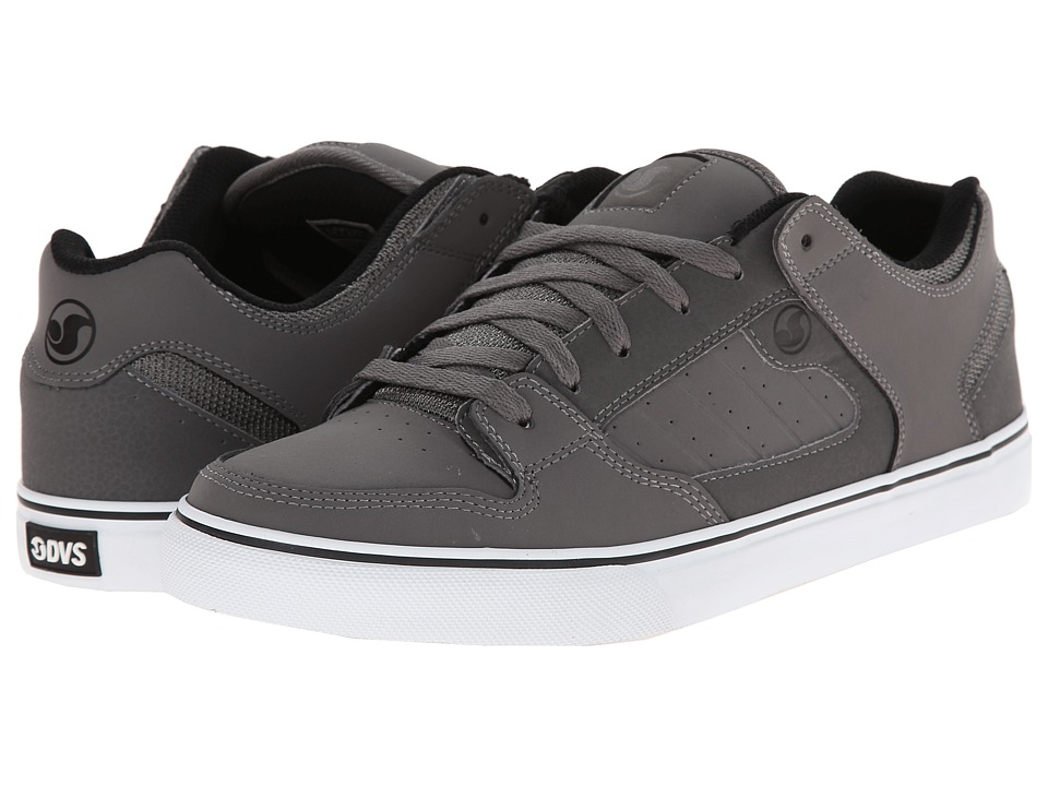 DVS Shoe Company - Militia CT (Grey/White Nubuck) Men's Skate Shoes