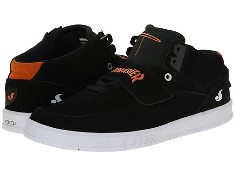 DVS Shoe Company - Torey 3 (Black Thrasher Suede) Men