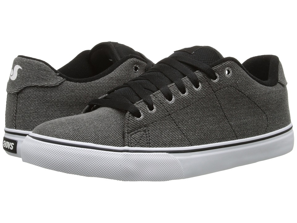DVS Shoe Company - Gavin CT (Black Twill) Men's Skate Shoes