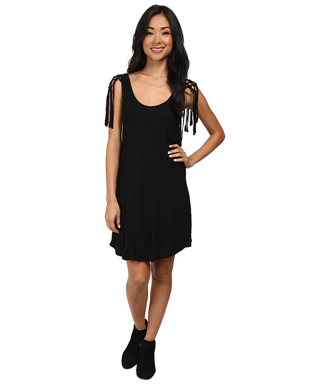 Volcom - Polar Gypsy Dress (Black) Women's Dress