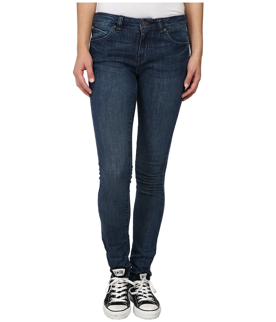 Volcom - Super Stoned Skinny Jean (Dusty Bowl Indigo) Women