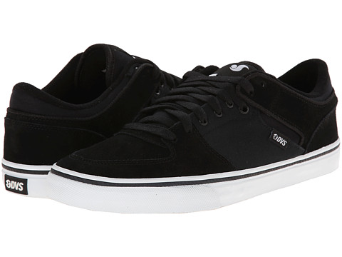 DVS Shoe Company - Torey Low (Black Suede) Men