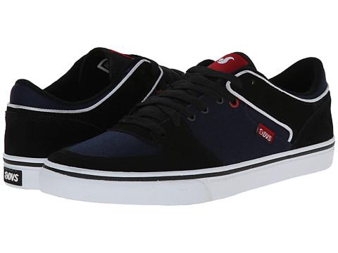 DVS Shoe Company - Torey Low (Black/Navy Suede) Men