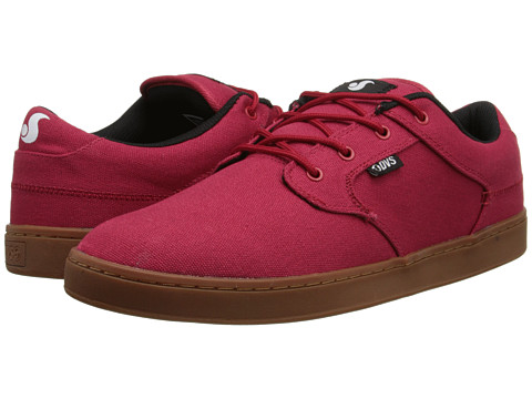 DVS Shoe Company - Quentin (Ribbon Red/Blue Atoll/Ivory) Men's Skate Shoes