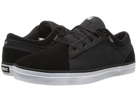 DVS Shoe Company - Aversa (Black Suede & Canvas (Marty Murawski)) Men