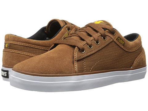 DVS Shoe Company - Aversa (Brown Rip Stop) Men's Skate Shoes