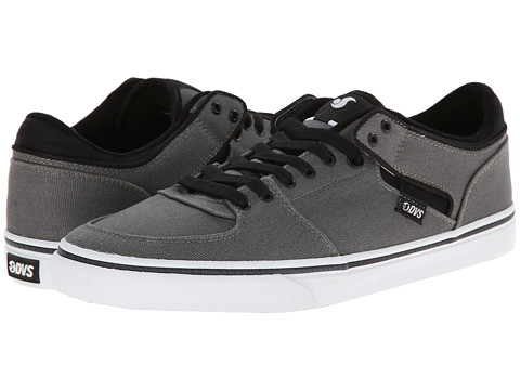 DVS Shoe Company - Torey Low (Pewter Canvas) Men's Skate Shoes