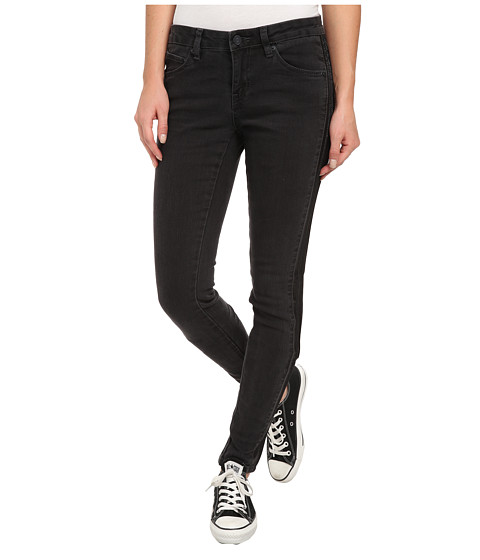 Volcom - Pinned Super Stoned Jean (Vintage Black) Women's Jeans