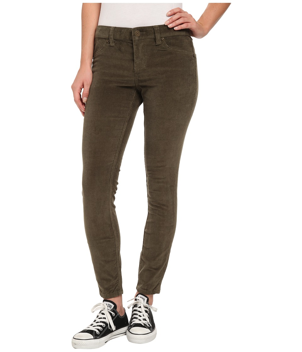 Volcom - Liberator Cord Legging (Army Green Combo) Women's Casual Pants