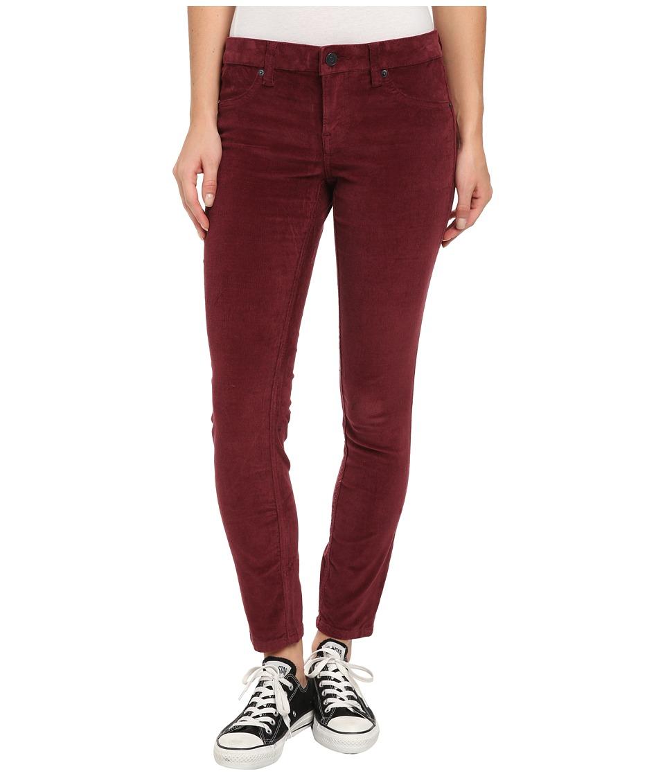 Volcom - Liberator Cord Legging (Merlot) Women's Casual Pants