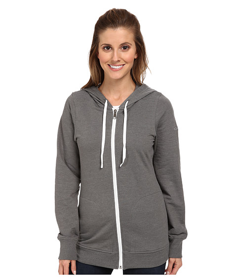Columbia - My Terry-Tory Full-Zip Hoodie (Charcoal Heather) Women's Sweatshirt