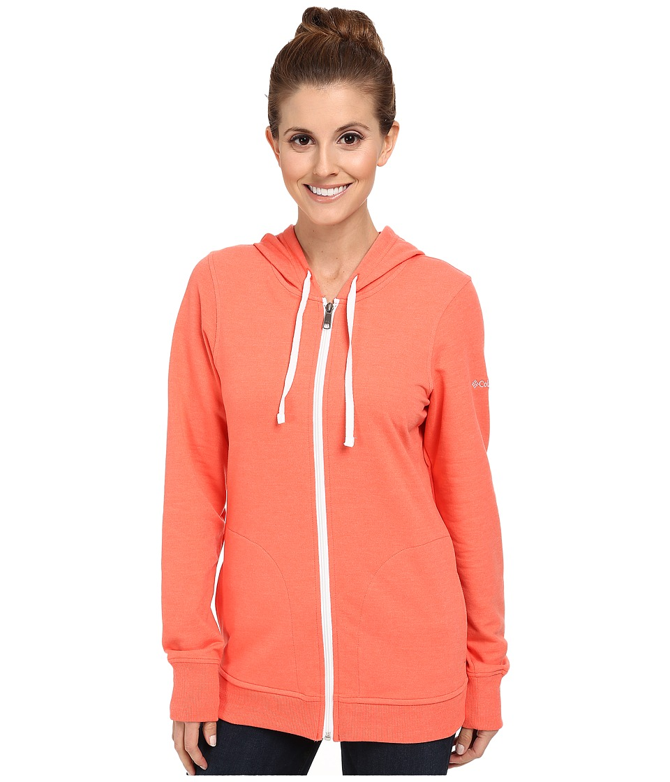 Columbia - My Terry-Tory Full-Zip Hoodie (Coral Flame) Women's Sweatshirt