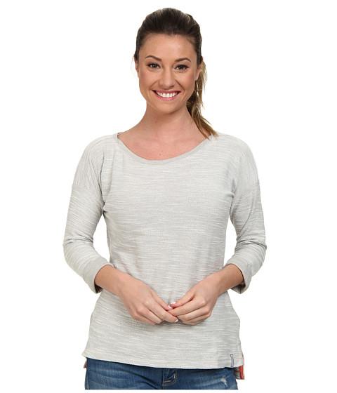 Columbia - Coastal Escape 3/4 Sleeve Shirt (Flint Grey Heather) Women