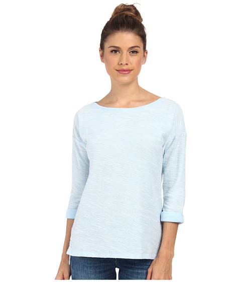 Columbia - Coastal Escape 3/4 Sleeve Shirt (Air Heather/Daydream) Women