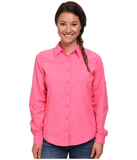 Columbia - East Ridge L/S Shirt (Tropic Pink) Women